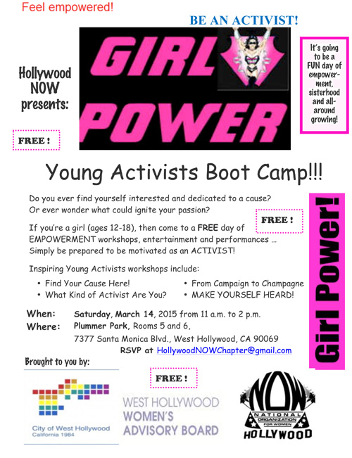 Microsoft Word - Young Activists Boot Camp Flyer 1.doc